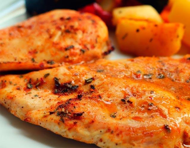 pechugas de pollo al horno