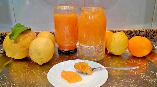 Mermelada de naranja amarga y casera