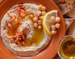 Hummus sin tahini