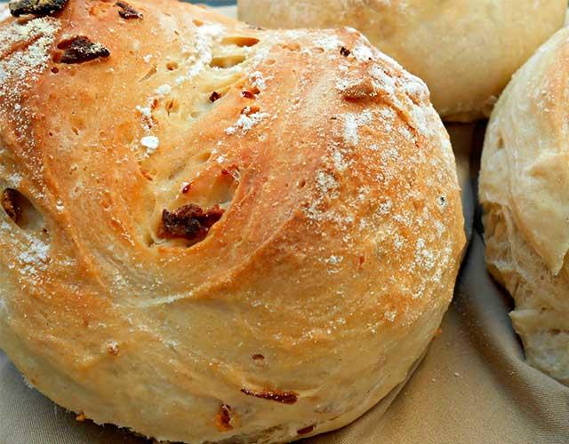 Pan de cebolla fácil