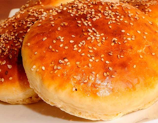 Pan sin gluten para hamburguesas