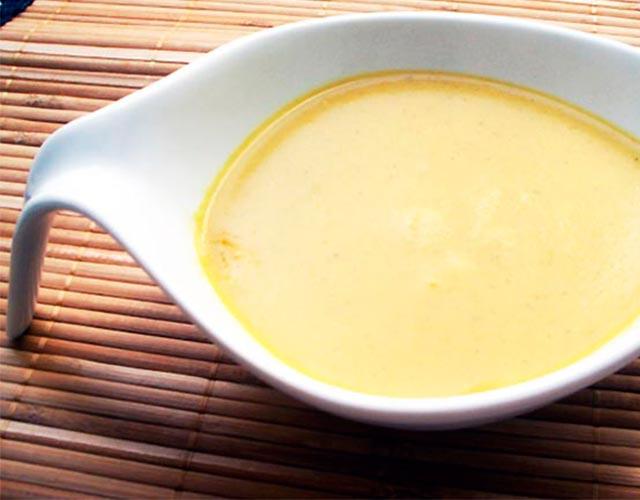 Salsa al curry fácil