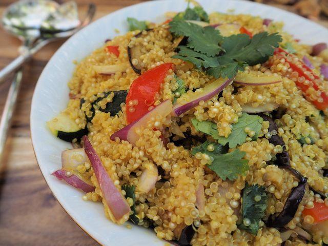 Receta de Rissoto de Quinoa
