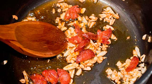 receta de sopa castellana