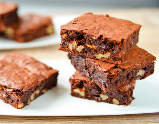 Brownie de Chocolate y Nueces
