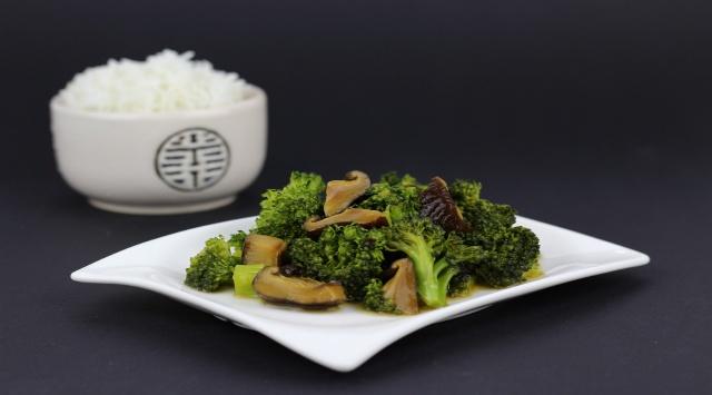 Arroz con Brócoli