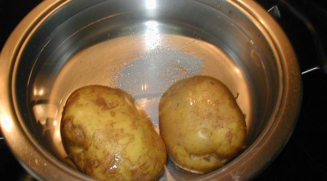 Cocer patatas