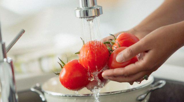 Sopa de tomates casero