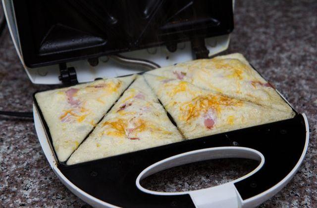 Sándwich de queso y tocino