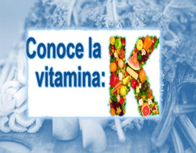 Conoce la vitamina K