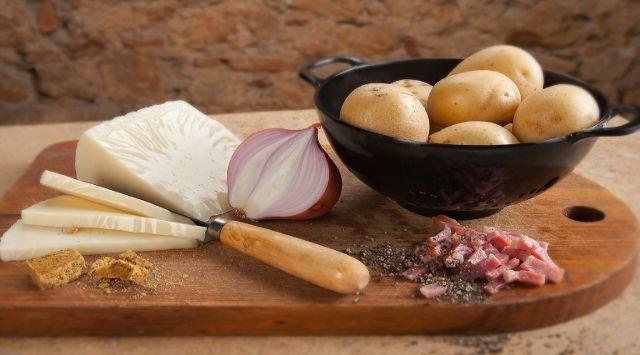 Patatas Rellenas con Bacon