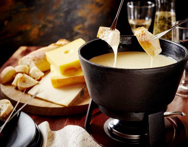 Fondue de queso perfecta