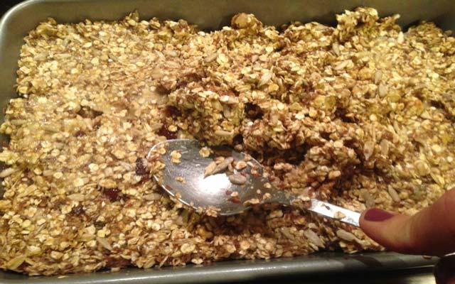 Barritas de cereal caseras ligth