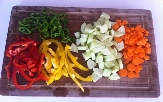 Albóndigas de vegetales