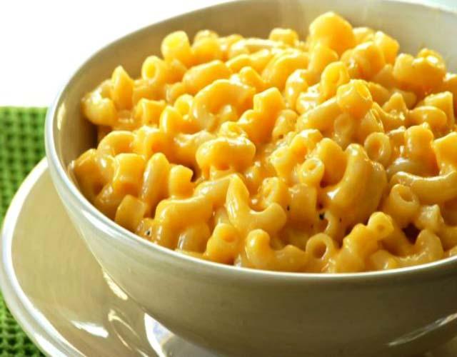 Macarrones con queso sin horno