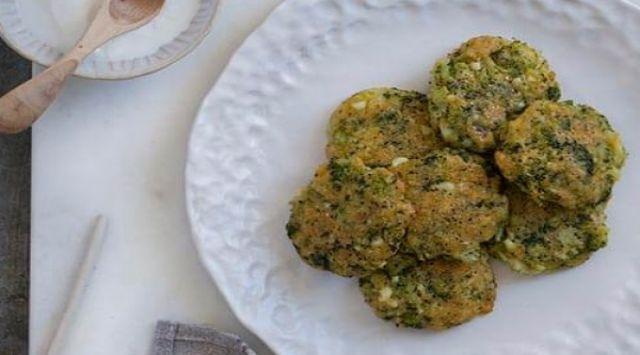 Hamburguesas de brócoli