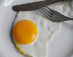 Huevos a la plancha