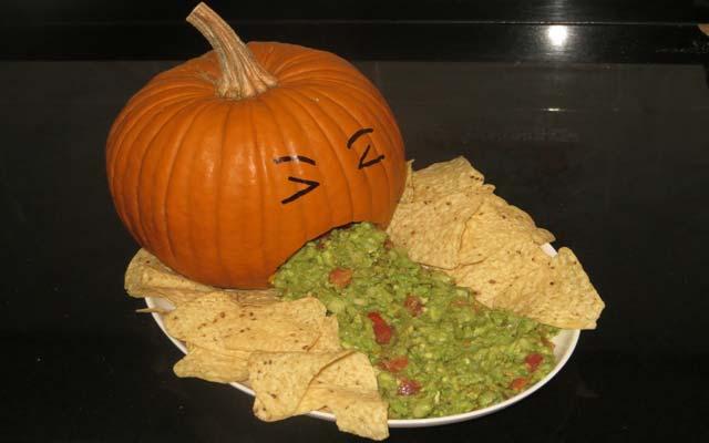 Recetas halloween saladas
