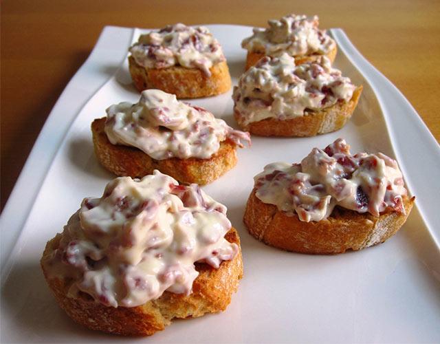 Recetas de pinchos de jamón serrano