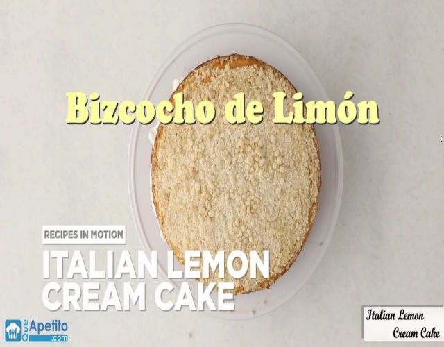 Tarta de Limón Italiana