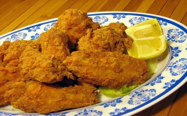 Pica pollo o pollo frito dominicano