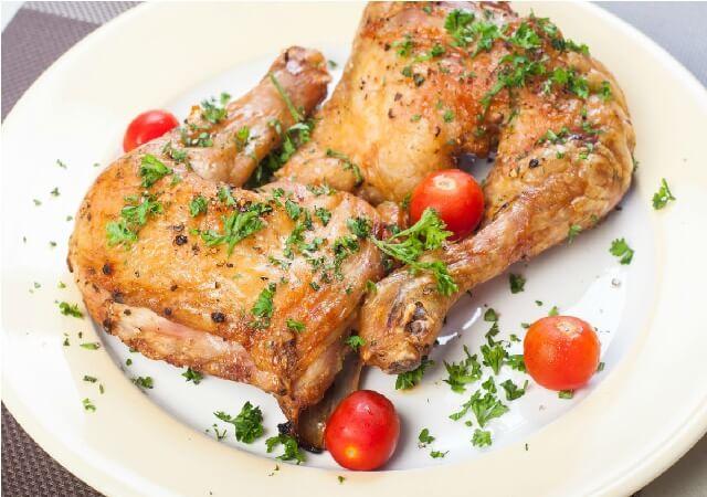 Trasero de pollo