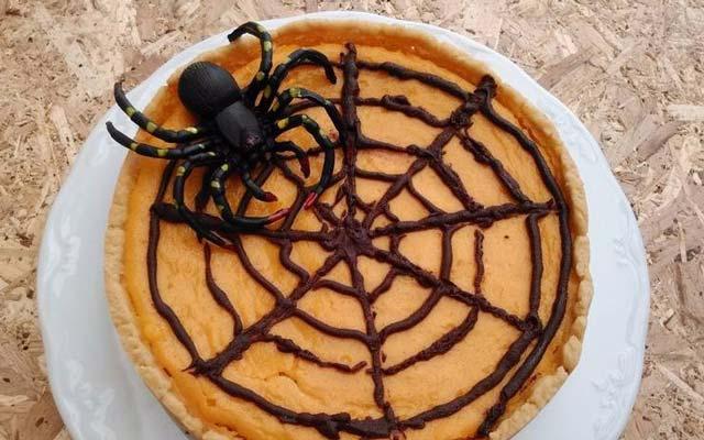 Tarta halloween para niños