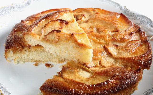 Tarta de manzanas casera