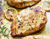 Filetes de Pollo al horno