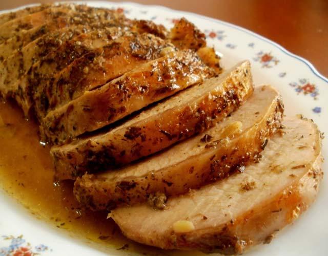 Magret de pato con salsa de miel