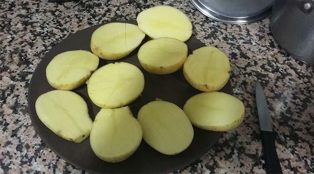 Patatas asadas al Pimentón de la Vera