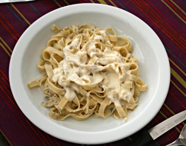 Salsa blanca para pasta