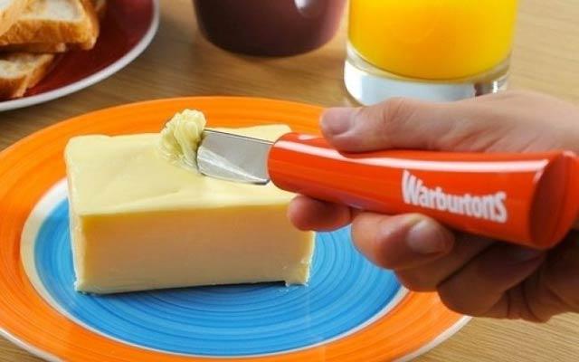 Forma fácil de cortar mantequilla
