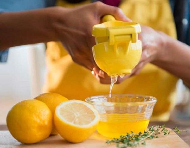 Limón con aceite de oliva