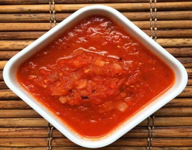 Puntillas de calamares en salsa