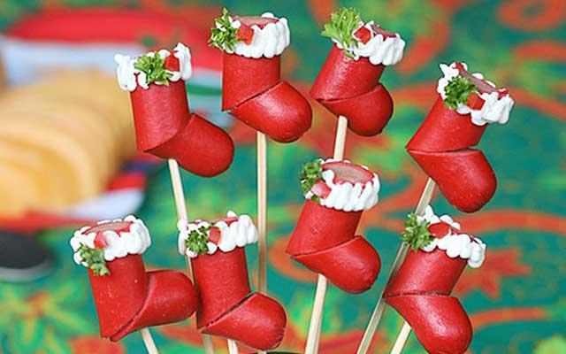 Postres de navidad para niños sin horno