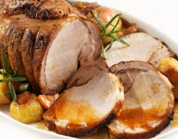 Solomillo de cerdo al horno