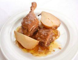 Magret de pato a la catalana