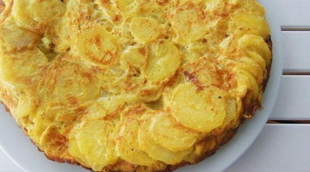 Tortilla de patatas con microondas