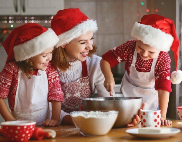 Recetas navideñas para niños