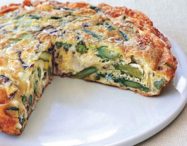 Receta De Tortilla De Espárragos Verdes O Trigueros