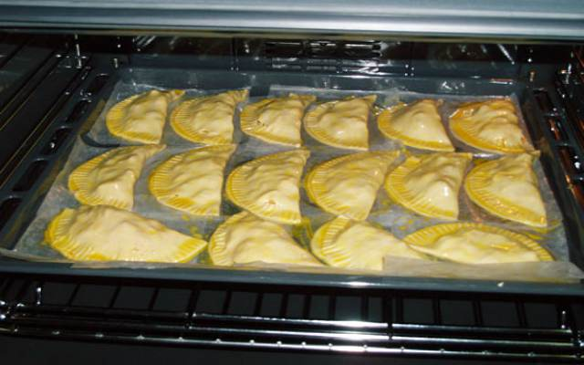Empanadillas al horno