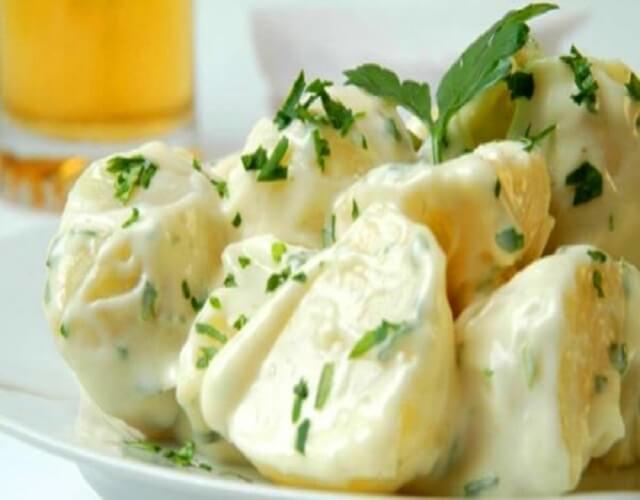 Salsa alioli sin huevo