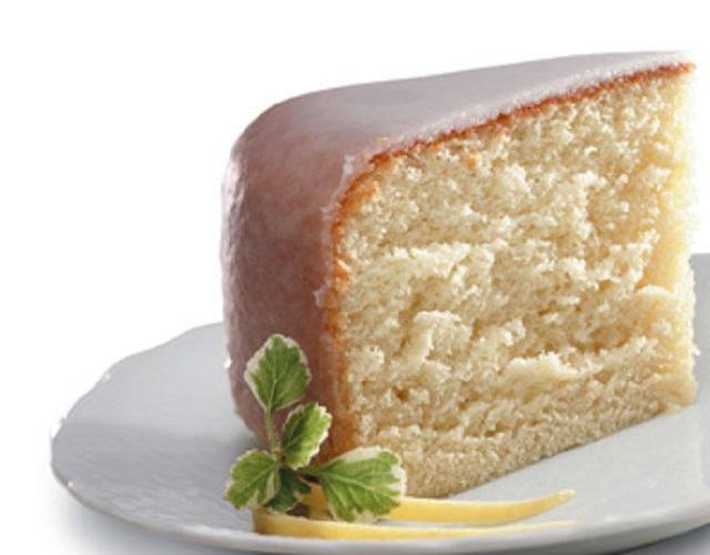 Delicioso pastel de vainilla
