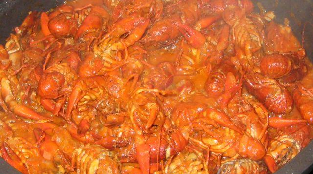Cangrejo en Salsa de Tomate