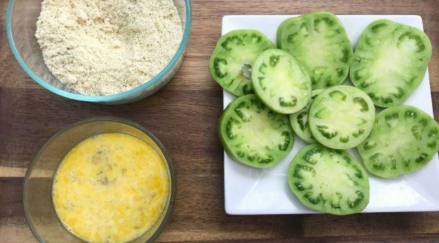 Tomates Verdes Fritos