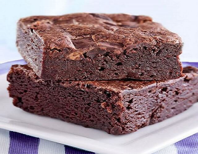 Brownie con harina de arroz