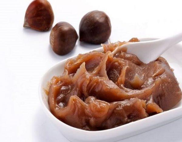 Dulce de castañas