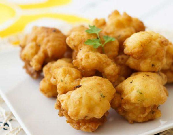 Buñuelos de bacalao con patata