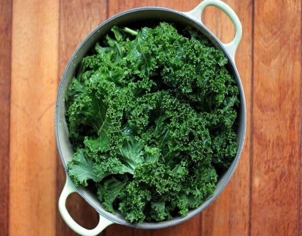 Como cocinar kale o col rizada